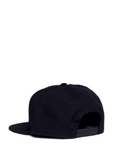 Nike'Futura True 2' logo embroidered wool baseball cap