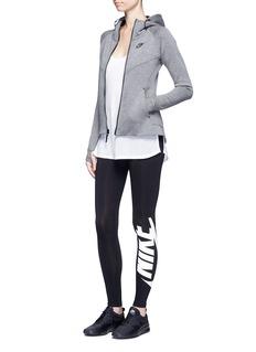 Nike'Sportswear Irreverent' Swoosh logo performance leggings