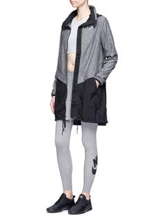 Nike'Sportswear Leg-A-See' Swoosh logo performance leggings