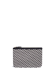 Pierre Hardy 'Perspective' cube print zip pouch