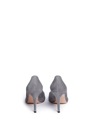 Back View - Click To Enlarge - Gianvito Rossi - 'Gianvito 85' suede pumps
