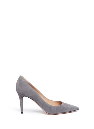Main View - Click To Enlarge - Gianvito Rossi - 'Gianvito 85' suede pumps