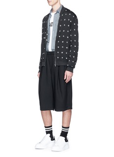 McQ Alexander McQueenSwallow intarsia blouson jacket
