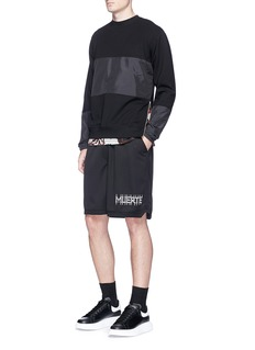 McQ Alexander McQueen Windbreaker panel sweatshirt