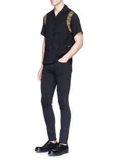 Johnundercover Repair patch skinny jeans