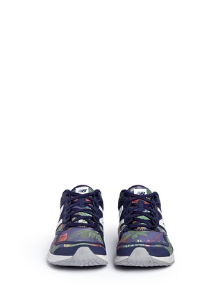 Front View - Click To Enlarge - New Balance - '1980' floral print Fresh Foam Zante sneakers