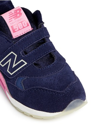 Detail View - Click To Enlarge - New Balance - '580' suede toddler sneakers
