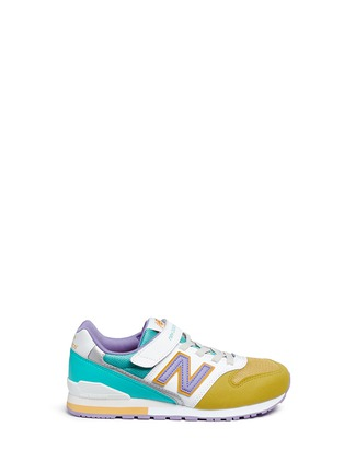 Main View - Click To Enlarge - New Balance - '996' leather trim kids sneakers