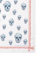 'Legendary Skull' silk-modal scarf