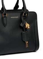 'Padlock' small leather tote