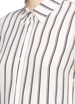 'Le Classic' stripe silk shirt