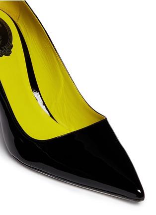 Detail View - Click To Enlarge - René Caovilla - Point toe patent leather pumps