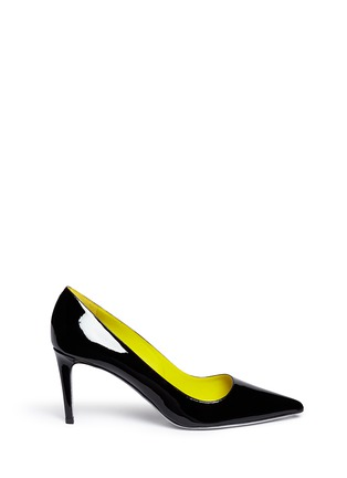 Main View - Click To Enlarge - René Caovilla - Point toe patent leather pumps