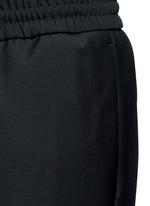 'Ryder' stretch waist wool-mohair pants