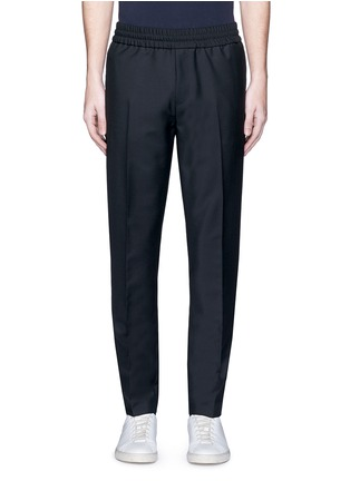 Main View - Click To Enlarge - Acne Studios - 'Ryder' stretch waist wool-mohair pants