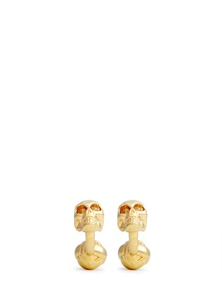 Main View - Click To Enlarge - Alexander McQueen - Crystal skull cufflinks