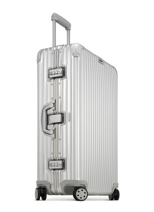 Figure View - Click To Enlarge - RIMOWA - Topas Multiwheel® (Silver, 85-litre)