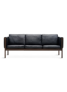 CARL HANSEN & SONCH163三座位皮革沙发