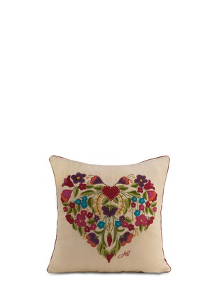 Main View - Click To Enlarge - JAN CONSTANTINE - Gypsy heart cushion
