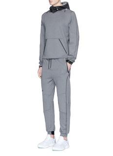 Dyne 'Renzo Core' reflective trim foil hoodie