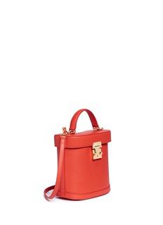 Mark Cross'Benchley' grainy leather binocular bag