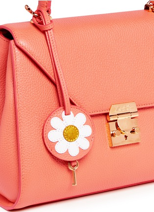 Detail View - Click To Enlarge - Mark Cross - 'Hadley Small Flap' leather bag