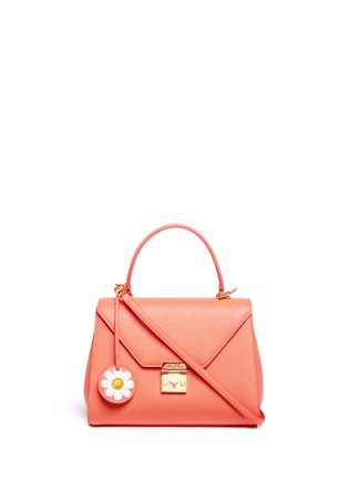 Main View - Click To Enlarge - Mark Cross - 'Hadley Small Flap' leather bag