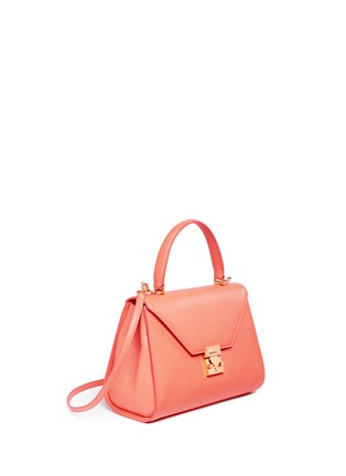 Figure View - Click To Enlarge - Mark Cross - 'Hadley Small Flap' leather bag