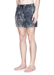 Acne Studios'Perry' haze print swim shorts