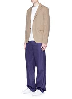 Acne Studios'Antibes' cotton poplin soft blazer