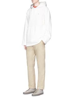 Acne Studios'Ari Pop' elastic waist cotton pants