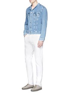 Acne Studios'Who' raw edge collar denim jacket