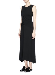 Theory 'Parthenia Dr' cross front ponte jersey dress
