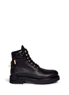 Buscemi 'Site' leather combat boots