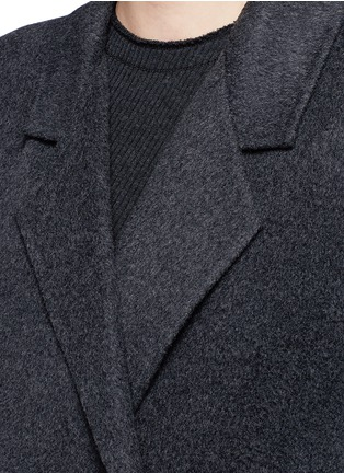 Detail View - Click To Enlarge - Helmut Lang - Oversized double faced wool-cashmere cape coat
