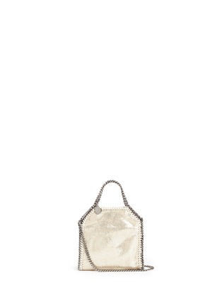 Main View - Click To Enlarge - Stella McCartney - 'Falabella' tiny crossbody chain tote