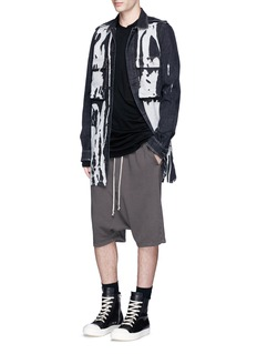 DRKSHDW by Rick Owens Patch pocket long sleeve T-shirt