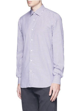 ISAIA - 'Parma' check cotton shirt
