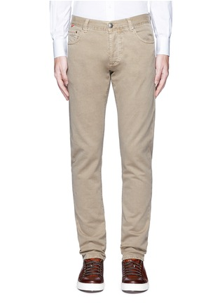 Main View - Click To Enlarge - ISAIA - Cotton twill denim pants