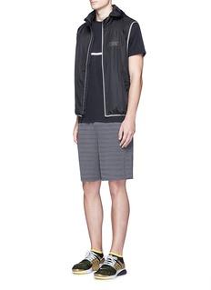 The UpsideStripe jacquard knit shorts