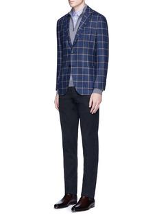 Incotex'Comfort' slim fit cotton twill pants