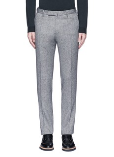 Incotex Slim fit wool hopsack pants