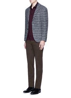Incotex'Comfort' slim fit cotton pants