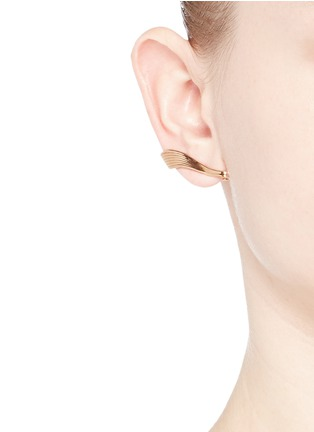 Figure View - Click To Enlarge - Fernando Jorge - 'Stream Lines' 18k rose gold ear cuffs
