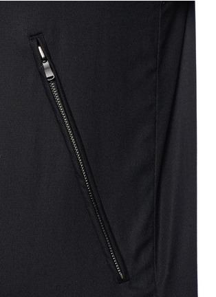 细节 - 点击放大 - THE VIRIDI-ANNE - 单色纯棉夹克