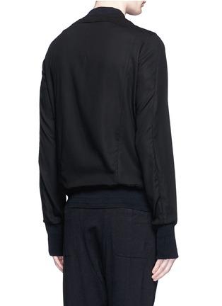 背面 - 点击放大 - THE VIRIDI-ANNE - 单色纯棉夹克