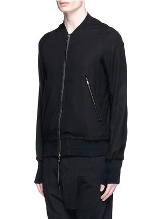 正面 -点击放大 - THE VIRIDI-ANNE - 单色纯棉夹克