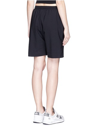 Back View - Click To Enlarge - MARKUS LUPFER - 'Belle' stretch crepe shorts