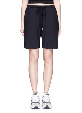 Main View - Click To Enlarge - MARKUS LUPFER - 'Belle' stretch crepe shorts