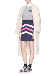 MARKUS LUPFER 'ML Lip Stripe Natalie' sweater